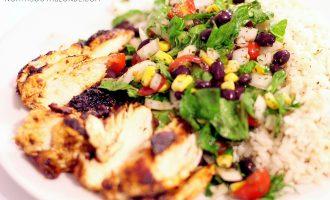 Chipotle Inspired Chicken Burrito Bowls