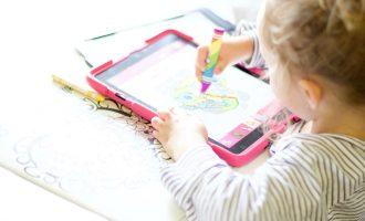 painting lulu paper to digital coloring