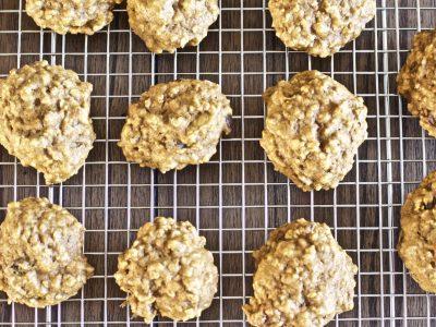 Oatmeal Raisin Pumpkin Cookies (Toddler Friendly)