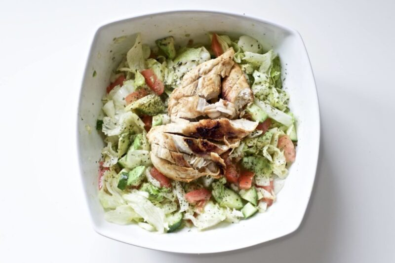 Blackened Chicken And Avocado Salad Gluten Free Paleo