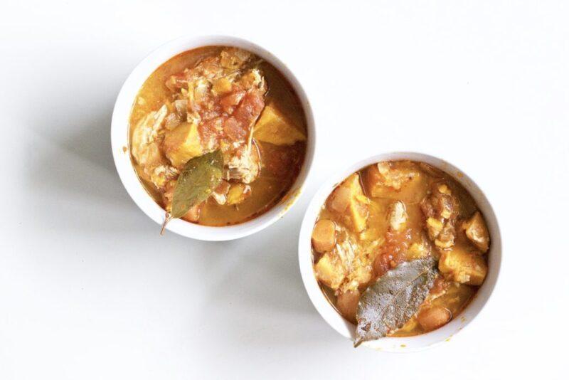 Slow Cooker Sweet Potato and Chicken Stew (Gluten-Free, Paleo)