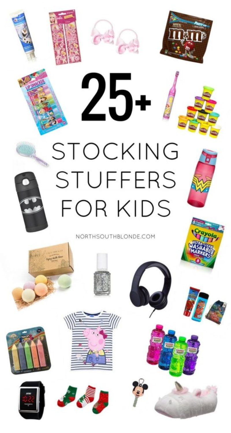 Gift Guide - 25+ Stocking Stuffers for Kids (No Toys)
