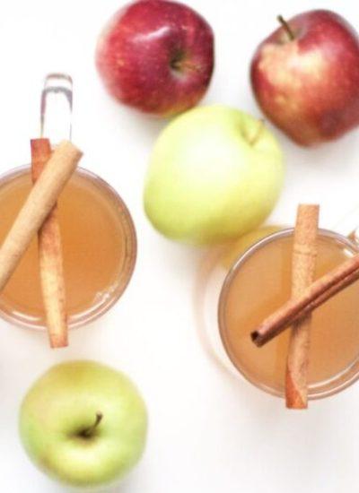 Super Easy Slow Cooker Apple Cider (Gluten-Free, Vegan, Paleo)