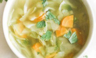 Fat Burning Cabbage Soup (GF, Keto, Paleo, Whole 30, and Vegan)