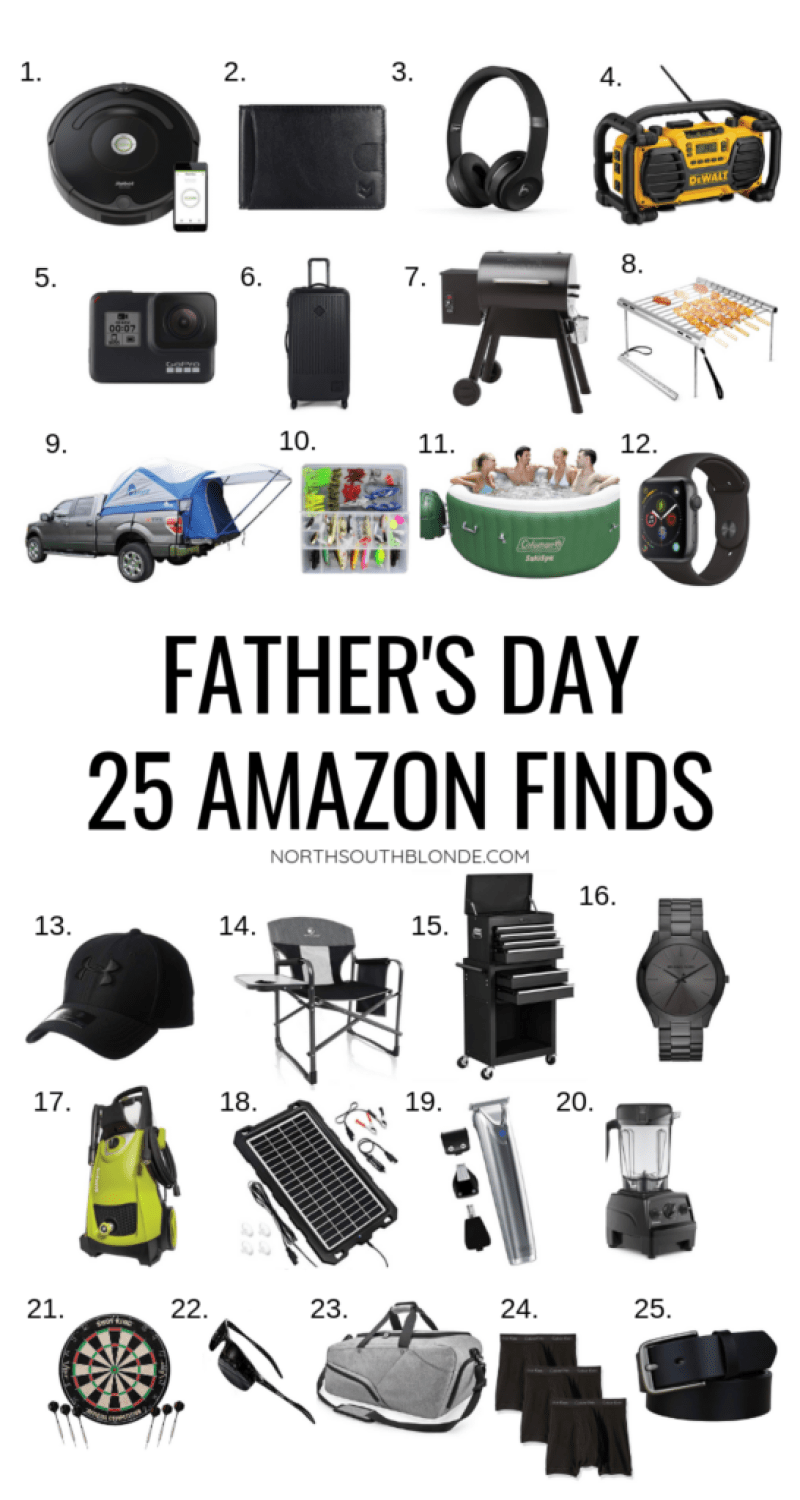Show your love to the special dad in your life this Father's Day with a functional and modern gift from Amazon that he will go crazy for. Amazon Prime | Amazon Gift Guide | Amazon Finds | Father's Day Gift Ideas | Father's Day Gifts | Shopping for Dad | Affordable | Stylish | Outdoorsman | Gifts for Men | Camping | BBQ | Grilling |
