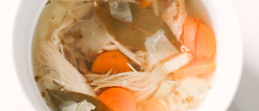 Leftover Slow Cooker Turkey Soup (Low Carb, Keto, GF, Paleo, Whole 30)