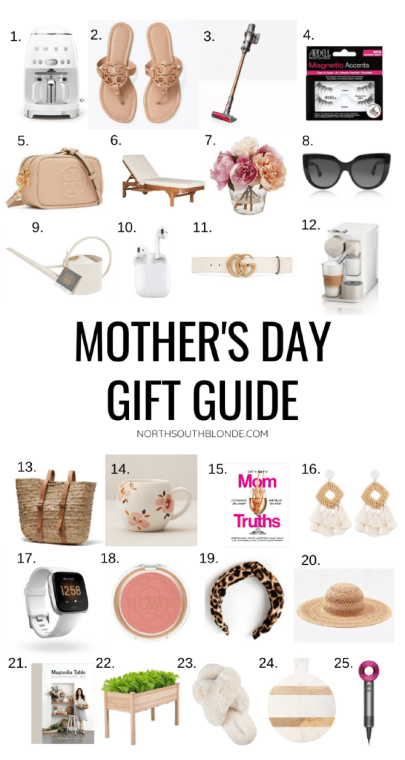 This Mother's Day Gift Guide will help you find the perfect gift for the modern, stylish Mom. A variety of gift ideas for her, that she's going to love! Gifts for Her | Women's Fashion | Spring Fashion | Spring Style | Spring Must Haves | Motherhood | Gifts for Mom | Gift Ideas | Women's Style | Gifts for Women | Springtime | May Flowers | Gardening | Kitchen |