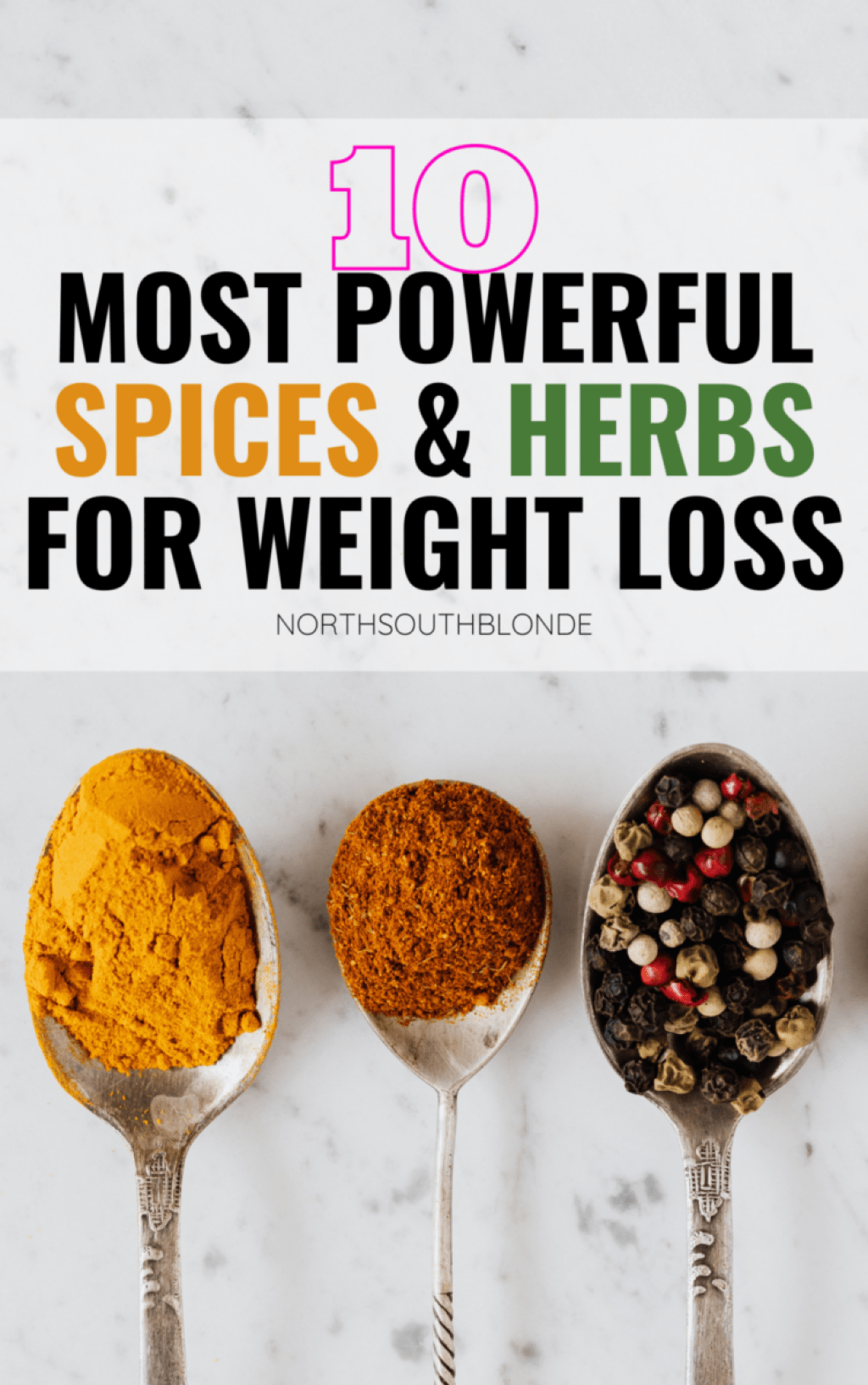 Kickstart your metabolism, fight the flu, fight aging, and detoxify your body with these powerful, flavourful herbs and spices for weight loss. Lose Weight | Burn Fat | Heal The Body | Holistic Nutrition | Medicinal Benefits | Anti Aging | Anti Inflammatory | Flu Fighting | Mental Health | Immune Boosting | Health Benefits | Superfood | Recipes | Cooking | Baking | Food and Drink |