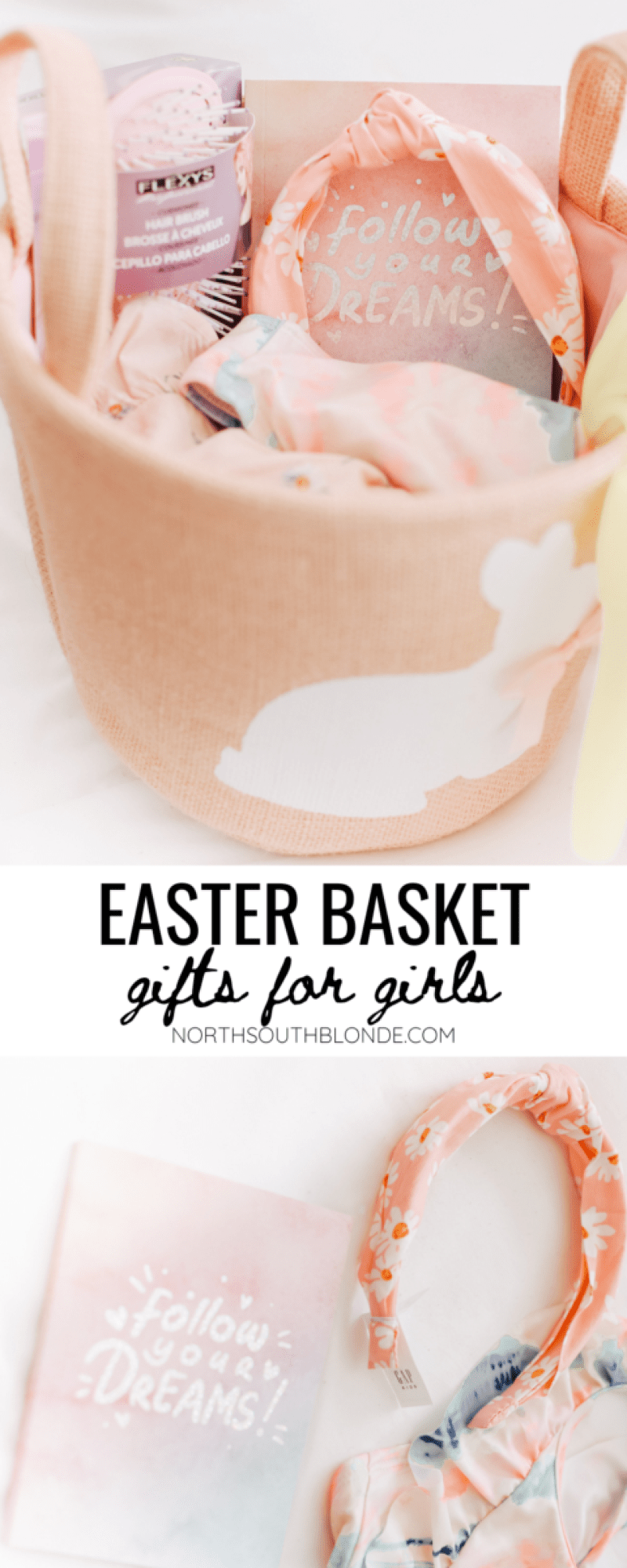Easter basket gift ideas for little girls and older girls, including fun bright spring colours and warm weather essentials. Easter Goodie | No Toys | No Candy | No Sugar | Dollar Store Finds | Gap Kids | Gap Girls | Walmart | Spring | Outdoor Activities | Spring Dresses for Girls | Girls Style | Girls Fashion | Spring Must Haves | Easter Basket for Older Kids | Gift Basket Ideas |