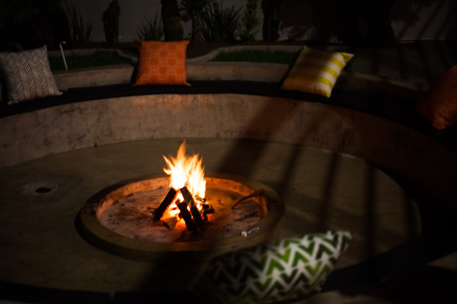 You need feel-good stories in Umhlanga Rocks with flames, smoke, sardines and spices.