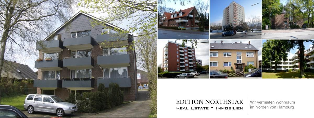 Wohnung frei ab 1. Juli 2017 in Norderstedt, Ohechaussee 35