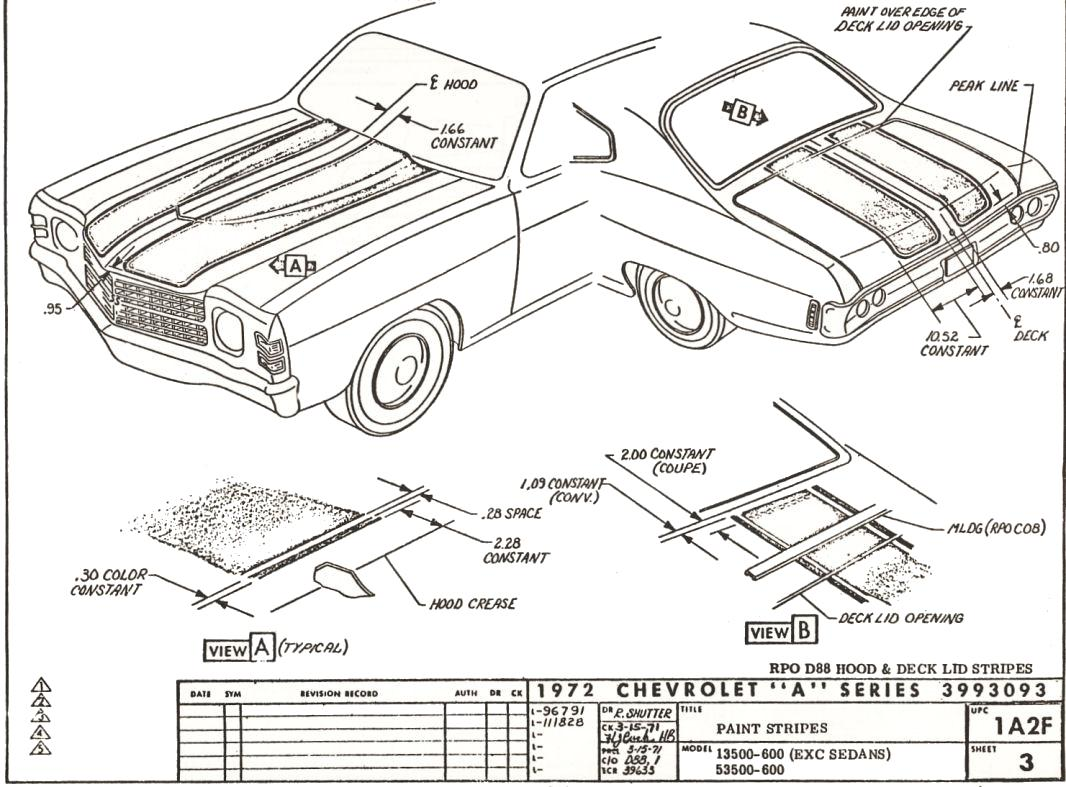 1970 Chevelle Wiring Harness Diagram 1970 Chevelle 38928