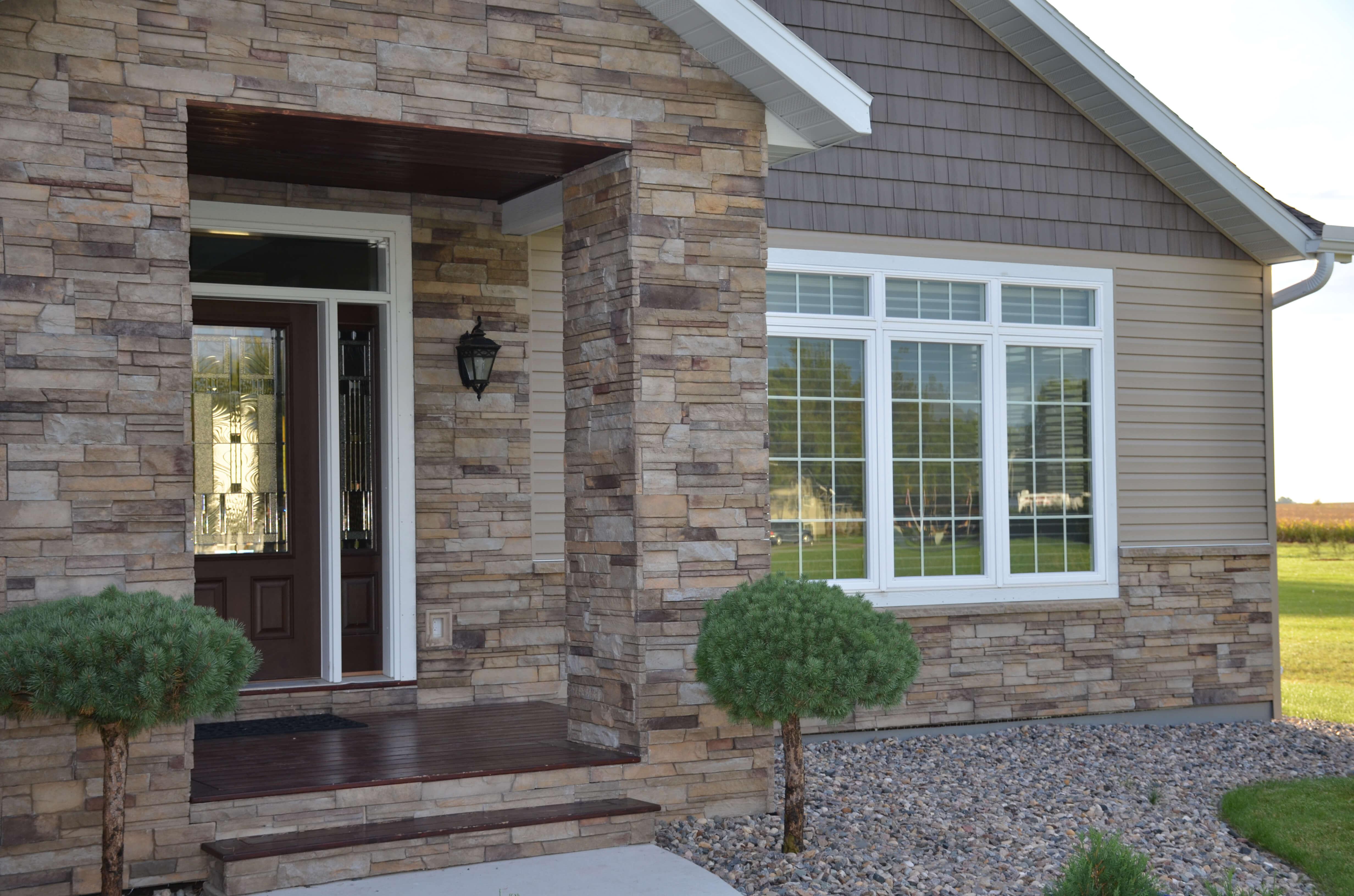 Porch Column Wraps Stone