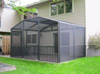 Full Porch Enclosures  North Star Screen Systems