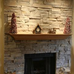 Lowes Refacing Kitchen Cabinets Buffets Your New Stone Fireplace: With Or Without Mortar Joints ...