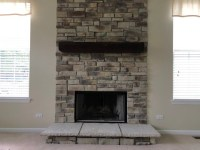 Ledgestone Fireplace Pictures - North Star Stone