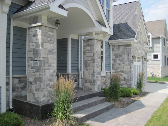 Stone Veneer & Hardie Exterior Pictures  North Star Stone