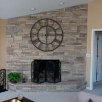 Angel Stone Fireplace. Fireplace Stone Surround Fireplace ...