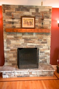 Does My Stone Fireplace Have To Extend To The Ceiling ...