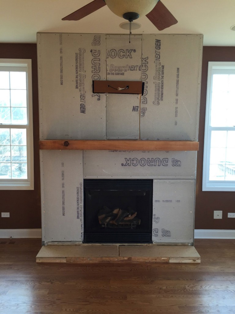 Install Stone Veneers Over Old Brick Fireplace Diy Youtube A Diy Stone Veneer Installation- Step By Step - North Star