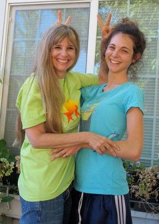 Faelin Klein and Briana Beaver