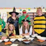 The Tehama County Library Reduce, Reuse, Re-scare Costume Swap Makes Recycling Creative Fun!