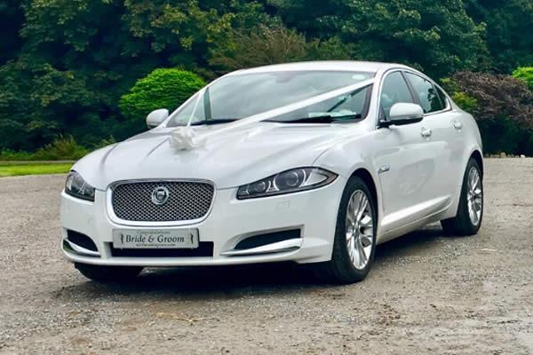 Jaguar XF Wedding Hire Car
