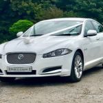 Jaguar XF Wedding Hire Car