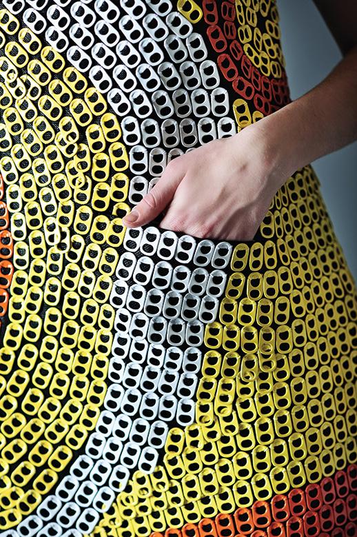 Faculty member designs EcoPop dress for environmental awareness  The North Texan