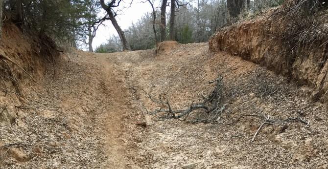 Trail at LBJ Grasslands