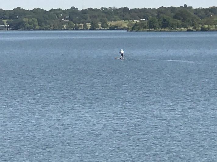 White Rock Lake Kayaker