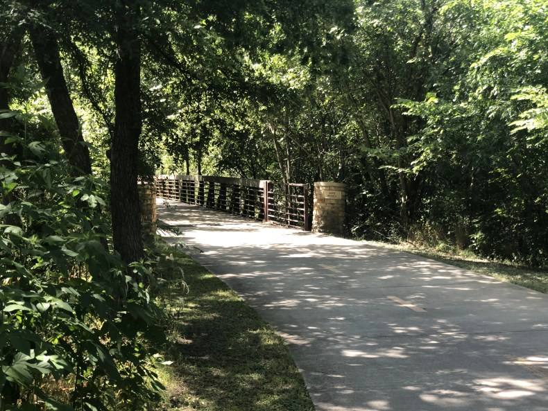 River Legacy: Another bridge on the concrete trail