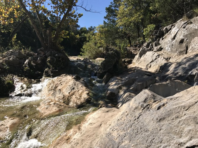 Turner Falls: Honey Creek