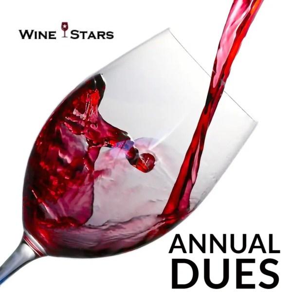 Annual Dues - Wine Stars
