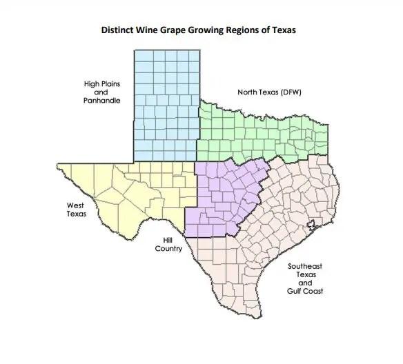 Texas Wine Regions