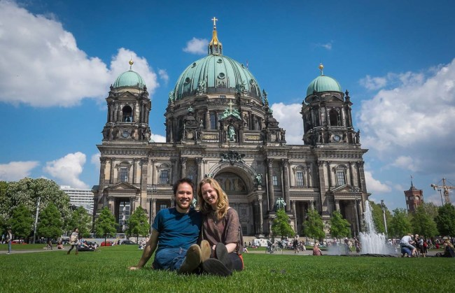 Diana and Ian at Berliner Dom, Berlin, Germany