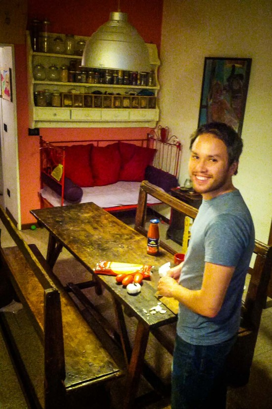 Milan apartment kitchen, Milan, Italy on northtosouth.us