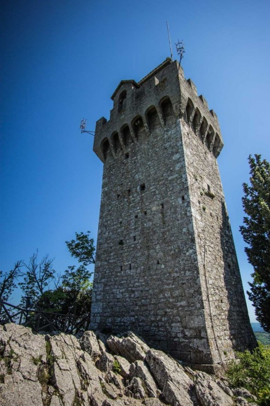 Montale tower, San Marino on northtosouth.us
