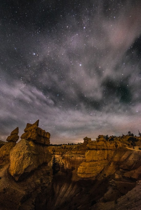 Bryce Canyon National Park, After Dark, Utah, USA on northtosouth.us