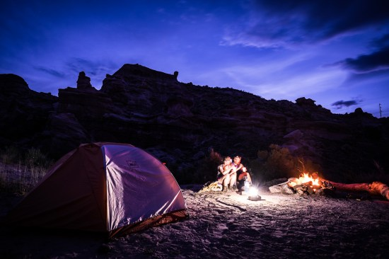Camping in BLM land outside Capitol Reef National Park on northtosouth.us