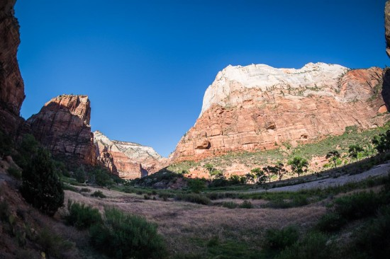 View from the shuttle, Zion National Park, Utah, USA on northtosouth.us