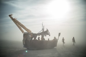 Dusty Ship, Burning Man 2014: In Dust We Trust - Photos of a Dusty Playa