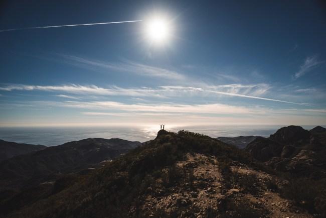 Shot of the Week: View from the Top (Sandstone Peak, Santa Monica Mountains, Malibu, California, USA)