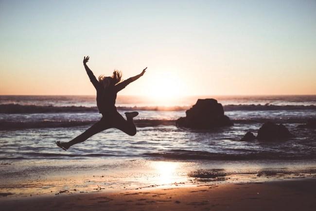 Shot of the Week: Diana jump at Zuma Beach in Malibu, California