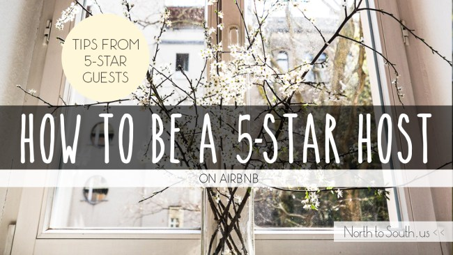 How to Be a 5-Star Host on Airbnb