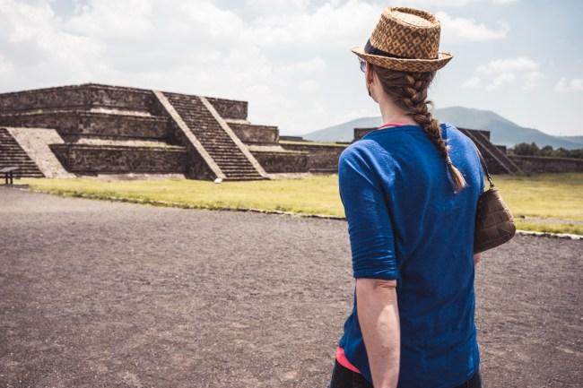 La Ciudadela at Zona Arqueológica in Teotihuacán