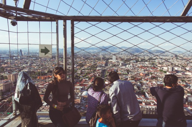 Torre Latinoamericana: Views from the fifth tallest tower in Mexico City