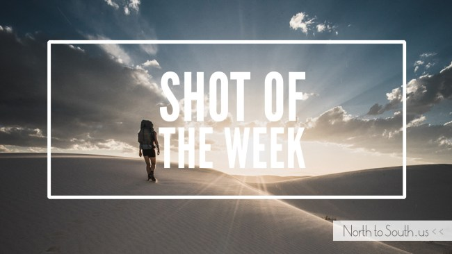 Shot of the Week: White Sands National Monument sunset hike