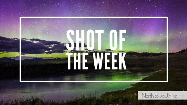 Shot of the Week: The Northern Lights (Aurora Borealis) in Yellowstone National Park, Wyoming, USA