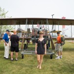 Flying contraption at Oshkosh fly-in 2015